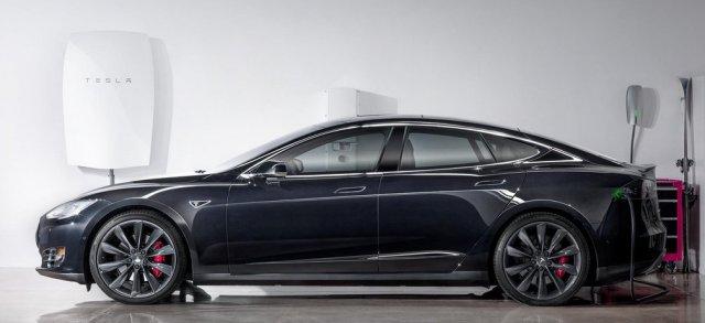 TeslaPowerwallWithCar